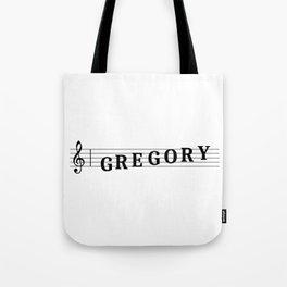 Name Gregory Tote Bag