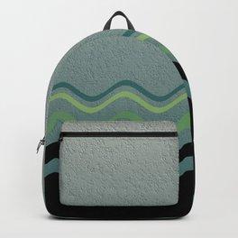 Grey &green Backpack