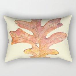 Tall Oak Leaf Rectangular Pillow