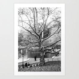 Trees #9 Art Print