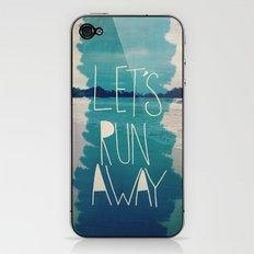 Let's Run Away: Manuel Antonio, Costa Rica iPhone & iPod Skin
