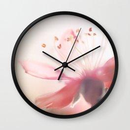 Vintage cherry blossom 2 Wall Clock