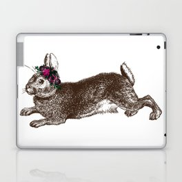 The Rabbit and Roses Laptop & iPad Skin