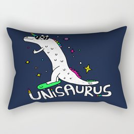 Unisaurus Rectangular Pillow