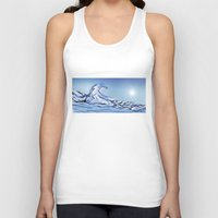 rogue Tank Tops featuring Rogue Wave by John Early