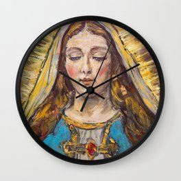Beata Virgen Maria Wall Clock