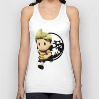 lucas david Tank Tops featuring Lucas by ScoDeluxe