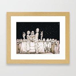 Innsmouth Wedding Framed Art Print