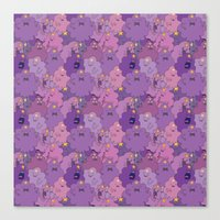 lumpy space princess Canvas Prints featuring Lumpy Space Princess by Beesants