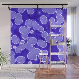 Blue Wall Mural