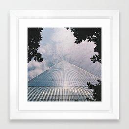 1 World Trade Center Framed Art Print