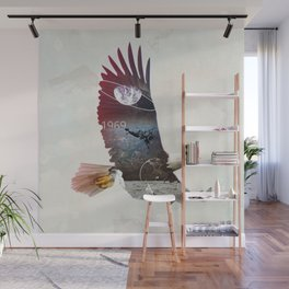 The Eagle Wall Mural