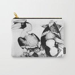 The Hornbills Carry-All Pouch