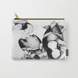 The Hornbills Carry-All Pouch