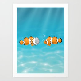 Clown Fish Kunstdrucke