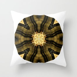 Nobody's Home But The Light Is On Throw Pillow
