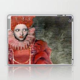 Queen Elisabeth/Newspaper Serie Laptop & iPad Skin