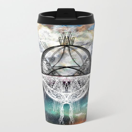 TwoWorldsofDesign Metal Travel Mug