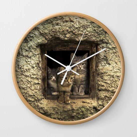 It's warm together! Wall Clock