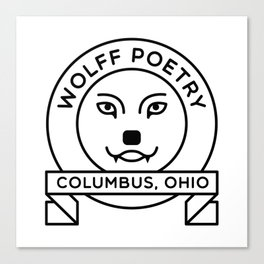 Wolff Poetry - Columbus, OH Canvas Print