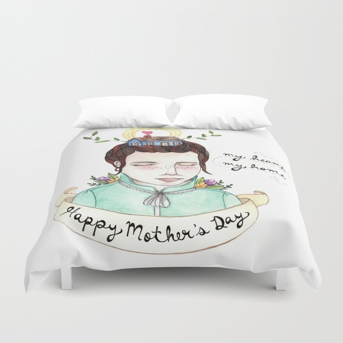 Mother's Day Duvet Cover