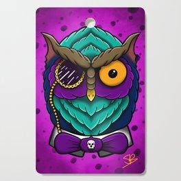 Fancy Owl Cutting Board