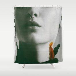 shoulder priest Shower Curtain