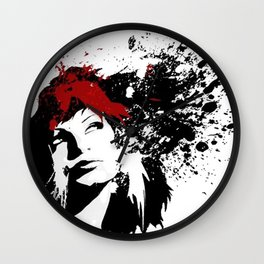 Girls Hair Wall Clock