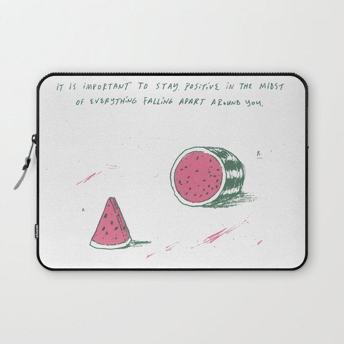 Watermelon Optimism Laptop Sleeve