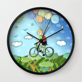 Adventure boY Wall Clock