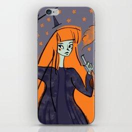 Pumpkin Witch iPhone Skin