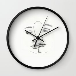 Attached Wall Clock