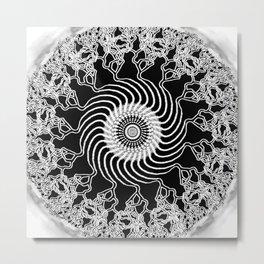 Zen Entanglement Metal Print