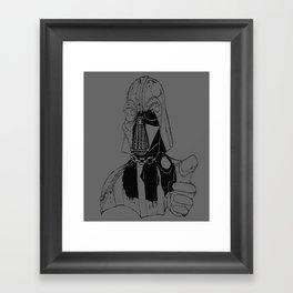 Star Vader Framed Art Print