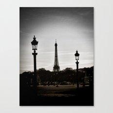 Twilight in Paris Canvas Print