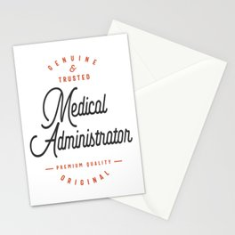 Medical Administrator Stationery Cards