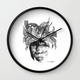 The Original Sunman - By Siphiwe Ngwenya Wall Clock