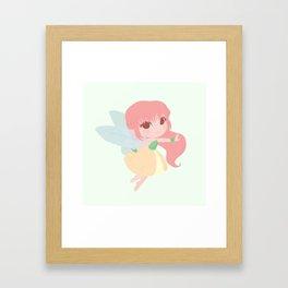 Fruit Fairy Framed Art Print