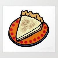 Hoosier Pie - Indiana Art Print