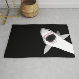 Shark Attack Out of the Deep Rug