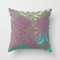 moroccan Throw Pillows featuring *Moroccan* by Mr and Mrs Quirynen