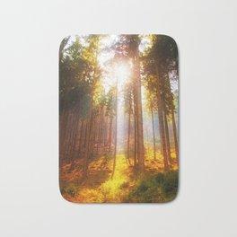 Sunshine forest Bath Mat