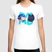 dmmd T-shirts featuring DMMD- chibi Aoba and Ren by prpldragon