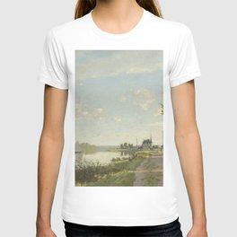 Claude Monet Argenteuil c. 1872 Painting T-shirt