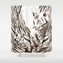 Tiger, Tiger Shower Curtain