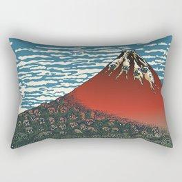 Mount Pugs Fuji Rectangular Pillow