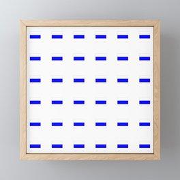 Flag of Bavaria 2 Framed Mini Art Print