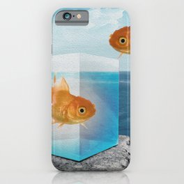 Horatio by the Sea - Goldfish iPhone Case