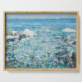 Surf, Isles of Shoals - Childe Hassam Serving Tray