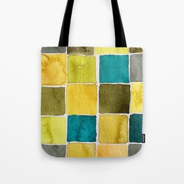 Fashion Color Trend 2021  Watercolor Pattern Tote Bag